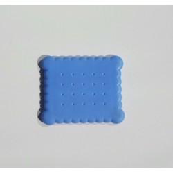 Alessi blauwe koekdoos deksel