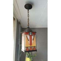 Amsterdamse school hanglampje