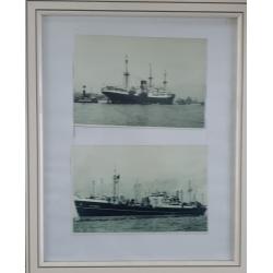 2 foto's MS Sloterdijk in...
