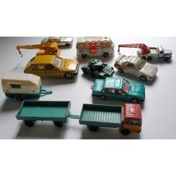 Lotje miniatuur autootjes