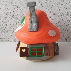 Vintage Smurfenhuis Schleich