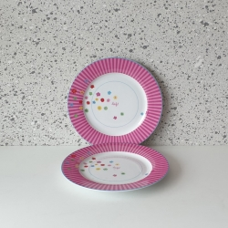 Lief lifestyle dinerbord roze