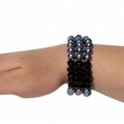 Armband elastisch 2 kleurig...