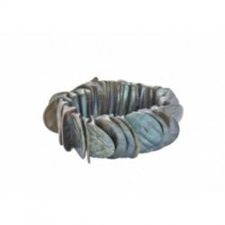 Elastische schelpen armband...